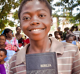 SHARE FIRST BIBLES WITH PEOPLE WHO HAVE WAITED A LIFETIME