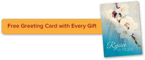 Free card with every gift