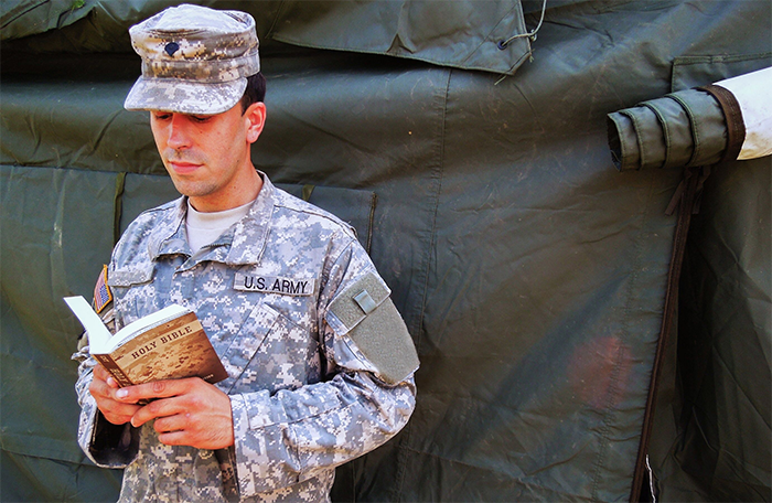 PROVIDE GOD'S WORD TO OUR TROOPS