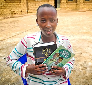 SHARE THE POWER OF GOD'S LOVE — AND HEAL A CHILD'S HEART!